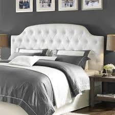 Tufted Leather Headboard Faux Leather Headboards For Less Overstock