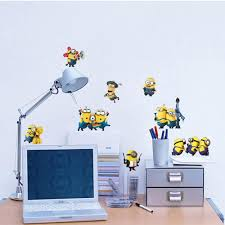 cartoon small minions despicable me removable wall sticke diy kids 1 we accept alipay west union tt all major credit cards are accepted through secure payment processor escrow