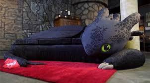 custom toothless couch dragon fanatics u0027 dream true