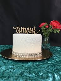 amour cake topper wedding cake topper cake topper for wedding