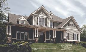 craftsman house plans with porches garrell associates inc melbourne house plan 05208 front