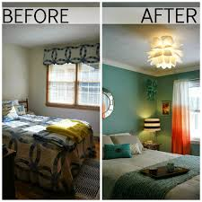 Before And After Living Rooms by Guest Bedroom Before And After Living In Yellow