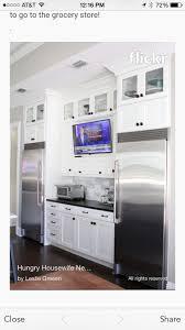 best 25 tv in kitchen ideas on pinterest wine cooler fridge