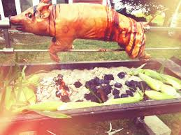 lets roast a pig dishing up the dirt