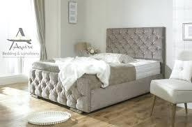 Tufted King Bed Frame Upholstered Bed Frame King Vectorhealth Me