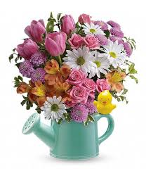 flowers bouquet watering can floral bouquet at from you flowers