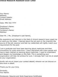 new cover letter for research assistant position 61 on good cover
