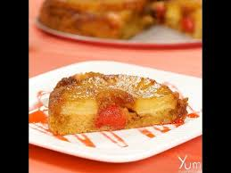easy way to make pineapple upside down cake youtube