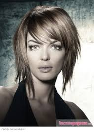 Wispy Medium Hairstyles by Whispy Layered Medium Bob With Whispy Bangs I Like This With Out