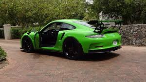 porsche 911 gt3 rs green ride in a 2016 porsche gt3 rs in green why not on my car story