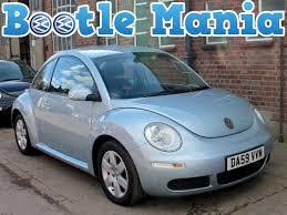 2010 volkswagen beetle 1 6 luna lumis blue with ac light blue 55k