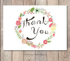 instant floral thank you card engagement thank
