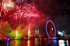 new year s celebrations live new year look of various cities across the globe
