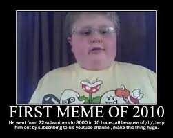 First Meme - the very first meme of 2009