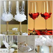 astounding wine glass decorations for weddings 31 in wedding table
