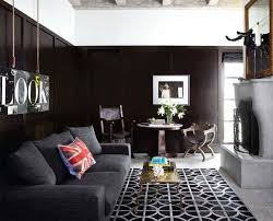 Black Living Room by Install Indulgently Textured Carpets In Communal Spaces To Enhance