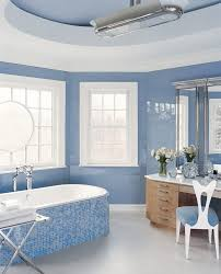 blue bathroom ideas traditional with matte multiuse mosaic tiles