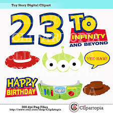 story digital clipart diy toy story party printables