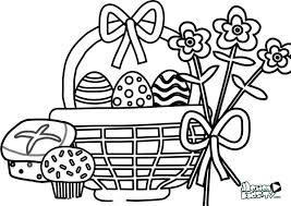 easter coloring pages kids easter eggs