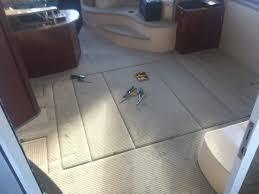 Teak And Holly Laminate Flooring Interior Boat Flooring Flooring Designs