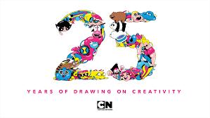 cartoon network 25 drawing creativity paley