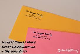 address stamps make great housewarming u0026 wedding gifts