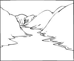 coloring pages for landscapes landscape coloring pages landscape coloring pages also landscape