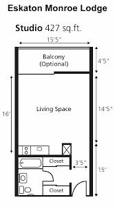 Bathroom Floor Plan Studio Floor Plans Interior Design