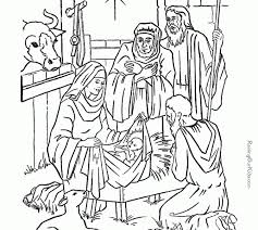 printable mother child christmas coloring pages kids