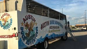 amphibious truck harvey relief austin duck adventures u0027 amphibious vehicles helping