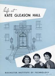 life at kate gleason hall pamphlet rit archive collections life at kate gleason hall pamphlet