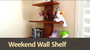 Wall Shelf Woodworking Plans by 138 How To Build A Quick U0026 Easy Wall Shelf Youtube