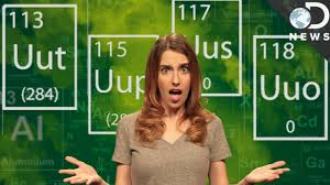 who developed modern periodic table what are the four new elements on the periodic table youtube