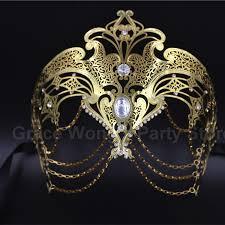 masquerade masks luxury gold gold sliver laser cut venetian masquerade masks