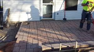 Laying Patio Pavers by Patio Ideas Magnificent Lowes Patio Pavers Decor 16 In Square