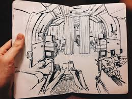 sketches from my point of view u201d by tom sharp twistedsifter