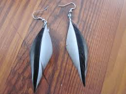 how to make feather earrings diy feather earrings 4 steps