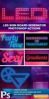 neon light font generator led sign board generator free download free graphic templates