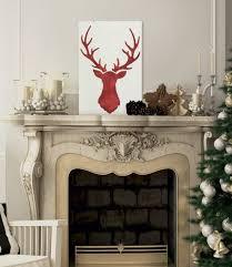 rustic christmas make rustic christmas using the deer stencil stencil