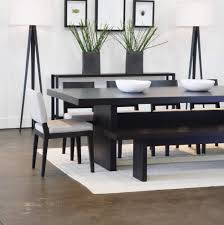Bench Dining Table Space Saving With Unique Dining Room Table With Bench And Chairs