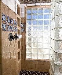 glass block bathroom designs bath design ideas