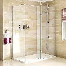 800 Shower Door Aqata Spectra Sp425 Walk In Shower Enclosure With Fixed Panel 1600