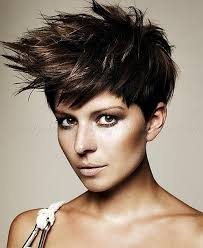 short hairstyles short haircut punk hairstyle for women short
