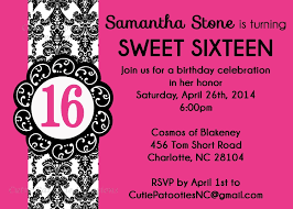 invitations for sweet 16th birthday party eysachsephoto com