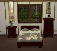 Chinese Bedroom Set Modern Asian Bedroom Set At Lexicon Luthor Sims 4 Updates