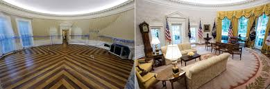 white house renovation 2017 what the white house and oval office look like after renovations