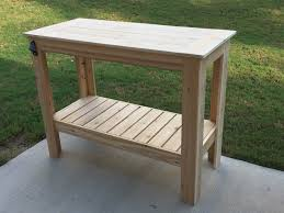 Diy Wooden Coffee Table Designs by Ana White Build A Grilling Table Free And Easy Diy Project And
