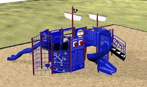 kidstuff playsystems pirate ship climber for ages 5 12 various