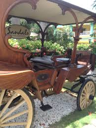 sandals royal caribbean montego bay jamaica all the best blog this antique carriage greets guests upon arrival to the entry courtyard popular photography spot for