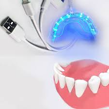 blue light whitening toothbrush portable for android ios dental bleaching system smart led teeth